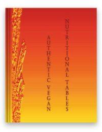《真实严格纯素食的营养表》的中文册比英语册更新出版的版本